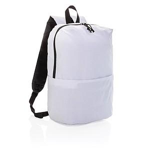 ALONISOS Jednoduchý klasický batoh PVC free, bílá