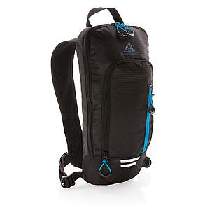 Malý 7L turistický ripstop batoh Explorer, černá