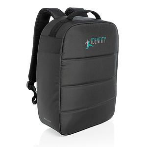 "Nedobytný batoh na 15,6"" notebook Impact z RPET AWARE™, černá"