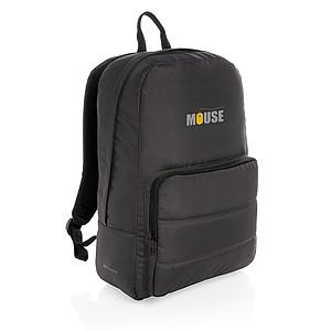"""Základní batoh na 15,6"""" notebook Impact z RPET AWARE™, černá"""