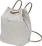 Bavlněný batoh, šedá