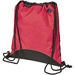 Polyesterový batoh na notebook, černá