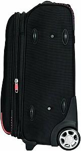 Cestovní kufr na kolečkách z kolekce Orange Line, černá