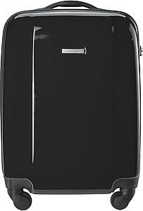 BINKY Pevný kufr na 4 kolečkách a s integrovaným zámkem, černý