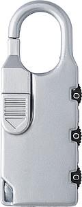 Kufr na 4 kolečkách se samostatným zámkem