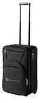 Cestovní kufr na kolečkách s možností zvětšení velikosti, černá