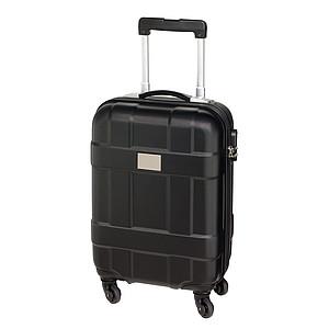 SEZIMO Cestovní kufr na 4 kolečkách, černý
