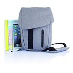 Taška na tablet, vyrobeno z recyklovaného materiálu, šedá