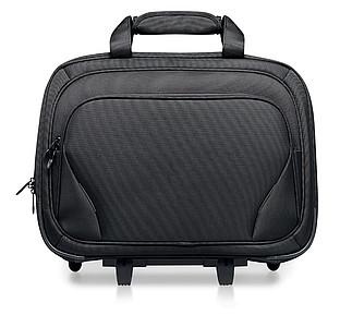 Business taška na kolečkách, kapsa na 17 palc. notebook