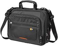Propracovaná taška na laptop zn. Case Logic, černá