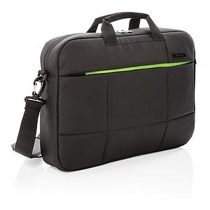 """Soho business taška na 15,6"""" notebook z RPET, černá"""