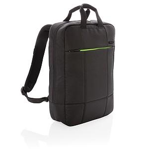 """Soho business batoh na 15,6"""" notebook z recyklovaného PET materiálu, černá"""