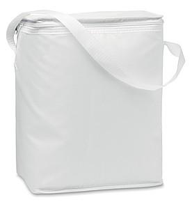 Chladící taška s popruhem, bílá