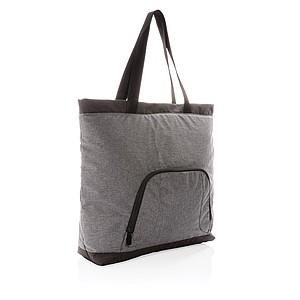 Chladící taška tote Fargo z RPET, šedá