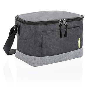 INES Duo color chladící taška z RPET, tmavě šedá