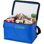 ARAVIS Chladící nákupní taška s přední kapsou na zip, bílá, modrá