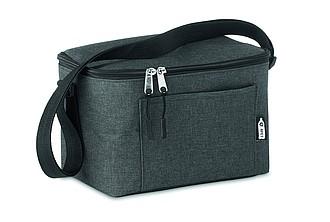 Chladicí taška na 6 plechovek, černá