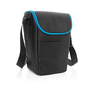 Outdoorová přenosná chladící taška Explorer, černá/modrá