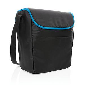 Outdoorová střední chladící taška Explorer, černá, modrá
