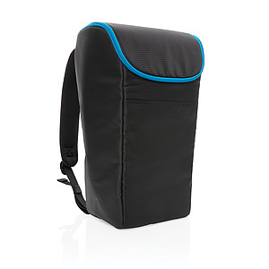 Outdoorový chladící batoh Explorer, černá/modrá