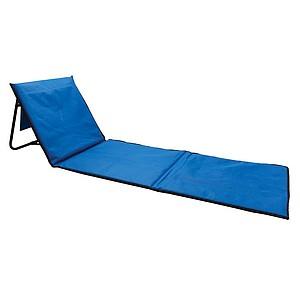 BUSKO Skládací plážové lehátko, královská modrá