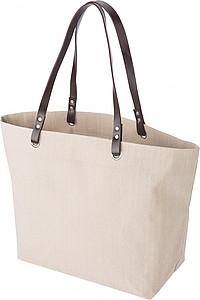 GOLDAPA Plážová taška s hnědými uchy