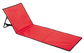 Skládací plážová podložka, červená