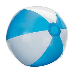 """nafukovací míč průměr 28 cm, 16"""", tyrkysová bílá"""