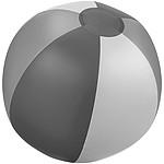 Nafukovací plážový míč se 6 panely, šedá
