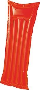 Nafukovací matrace v matně barevném provedení, červená