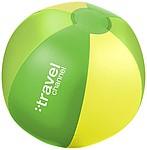 Nafukovací plážový míč se 6 panely, zelená
