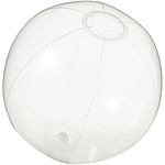 Nafukovací plážový míč, transparentní