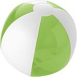 Nafukovací míč, průměr 25 cm, bílý/růžový