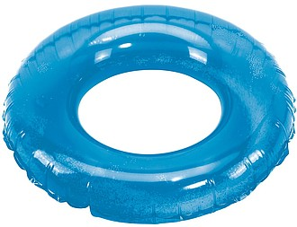 Nafukovací kruh do vody, modrý