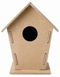 Skládací dřevěná ptačí budka
