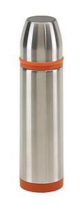 KEEP WARM Nerezová termoska 0,5 l, s oranžovým pruhem