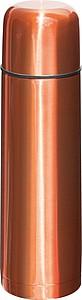 Termoska kovová, 500ml, oranžová