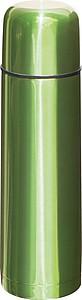 Termoska kovová, 500ml, zelená