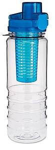 Plastová láhev na vodu se zásobníkem na citrusy
