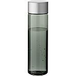 Transparentní láhev se šroubovacím víčkem, objem 900 ml, černá