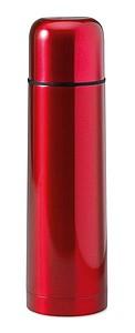 FUBSTER Lesklá nerezová termoska, objem 500 ml, červená