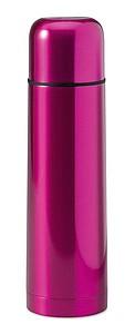 FUBSTER Lesklá nerezová termoska, objem 500 ml, růžová