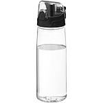 Sportovní láhev s flipovým otvíráním, transparentní