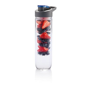 ARAMINTA Láhev na vodu s oddílem na ovoce, objem 800 ml, modrá