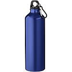 Jednoplášťová láhev s karabinou, objem 770 ml, tmavě modrá