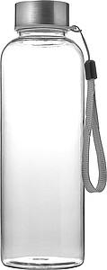 AUBARIO Tritanová láhev o objemu 500 ml s poutkem, transparentní