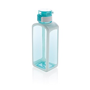 Nepropustná tritanová láhev Squared s uzamykatelným víčkem,