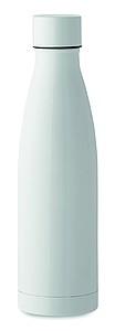 Nerezová dvoustěnná termoska, objem 500ml, bílá