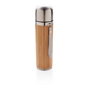 Bambusová termoska, hnědá