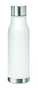 Láhev na pití z RPET, 600ml, bílá